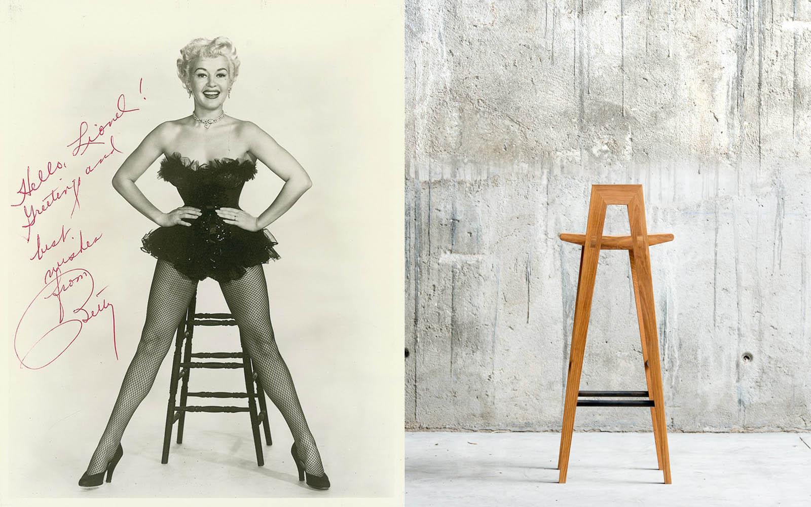 Grable high stool