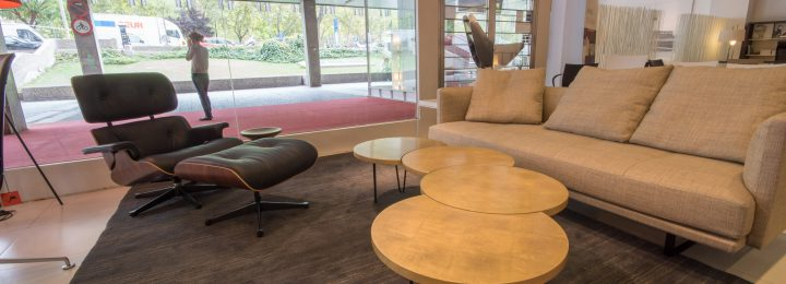 QoWood collection in <i>Volumen</i> showroom