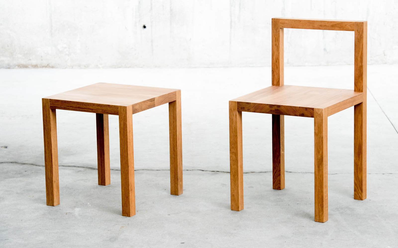 QoWood stool